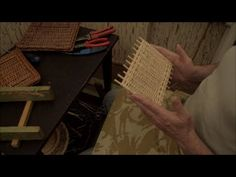 Плетение из лозы-Прямоугольное донышко-Wickerwork
