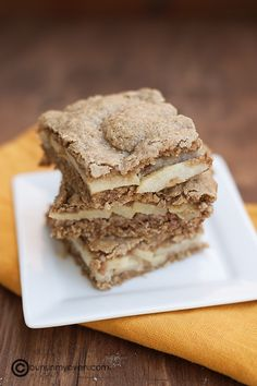 recipe for apple bars with oatmeal