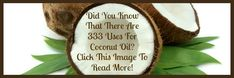 333 Uses For Coconut Oil - Hybrid Rasta Mama