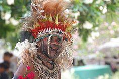 Resident of Boga-Boga, a village on the southeast coast of mainland Papua New Guinea