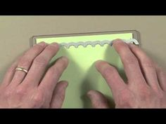 Edgelits - how to place the embossing folder so it matches up with the cutting.