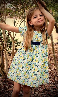 "The ""Mia and Moi"" Pattern, little girl's DRESS pattern OR girl's BLOUSE pattern, sewing pattern, sized to fit ages Little Girl Dress Patterns, Toddler Dress Patterns, Sewing Patterns Girls, Little Girl Dresses, Girls Dresses, Pattern Sewing, Skirt Patterns, Coat Patterns, Pattern Drafting"