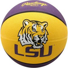 NCAA Louisiana State Fightin Tigers Crossover Full Size Basketball by Rawlings by Rawlings. $19.95. Features school colors, team logo and name. Alternating team color panels. Full Size Basketball. High quality vulcanized rubber. Rawlings LSU Tigers Crossover Full Size BasketballImportedOfficially licensed collegiate productRegulation size and weightScreen print graphicsInflate to 7-9 lbs.Screen print graphicsRegulation size and weightInflate to 7-9 lbs.ImportedOfficia...