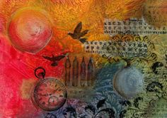 Mixed Media Art with PanPastel - Daniela Rogall