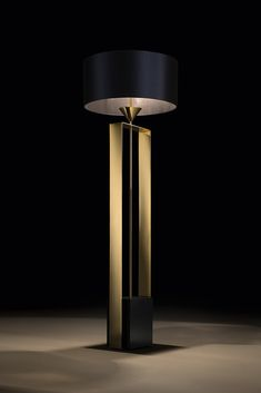 Brighten up your Monday with the Gold Contemporary Designer Floor Lamp here at Juliettes Interiors, also available to view in our showroom at 598 Kings Road, Chelsea, London. Contemporary Light Fixtures, Contemporary Interior, Luxury Interior, Modern Interior Design, Luxury Furniture, Luxury Lighting, Unique Lighting, Lighting Design, Lighting Ideas