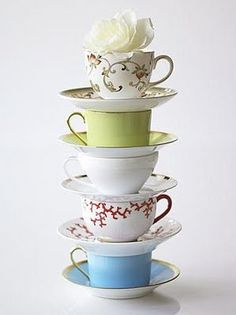 I just love teacups! If someone would like to bless me with a set I would be so happy ;)