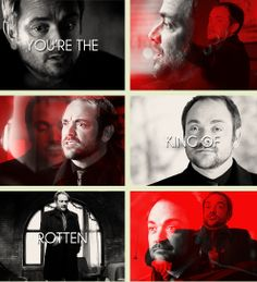 Crowley [gifset] - You're the King of Rotten, act like it!