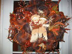 Thanksgiving/Fall wreath idea