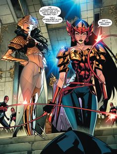 """Comics and nothin' but — Earth Society – """"Running on … – Marvel Comics Marvel Dc Comics, Dc Comics Art, Comics Girls, Marvel Heroes, Comic Kunst, Wonder Woman Art, Univers Dc, Dc Comics Characters, Comics Universe"""