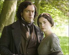 Charlotte Brontë- Jane Eyre 2006 version with Toby Stephens and Ruth Wilson. Not an Austen but just as magical.