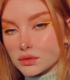 Cute Makeup Looks, Makeup Eye Looks, Eyeliner Looks, Eye Makeup Art, Pretty Makeup, Face Makeup, Indie Makeup, Edgy Makeup, Maquillage On Fleek