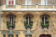 Edificio de la  Av. Rapp 29 París. Jules Lavirotte