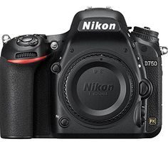 Nikon D750 24.3 Digital SLR Camera (Black) Body Only Nikon…