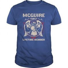 I Love MCGUIRE Family, Lifetime Member T shirts
