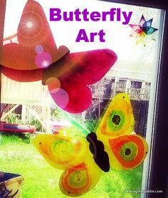 Taming the Goblin: Kids Coop - butterfly art