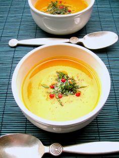 Pumpkin soup, a woman's thing? Sopa de abóbora, coisa de mulher?