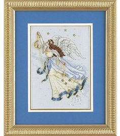 Dimensions Gold Counted Cross Stitch Kit Twilight Angel Petite