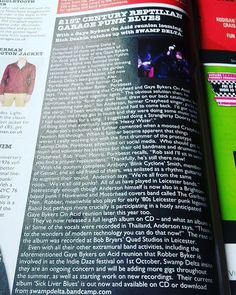Swamp Delta review in the current issue of Vive Le Rock Magazine.  #swampdelta #crazyhead #gayebykersonacid #sickliverblues http://ift.tt/21NVwts