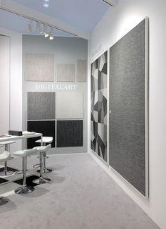 #DigitalArt, the brand new collection by #CeramicaSantAgostino, presented as world premiere during #Covering2015 in Olando, Florida #design #designtiles #modern #architecture #stand #booth #fair #textile #fabric #denim #style #interiordecor #homedecor