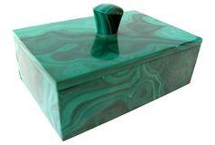 Malachite Box on OneKingsLane.com