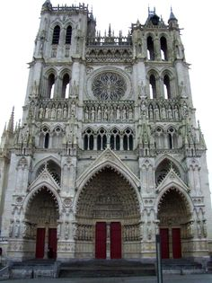 Amiens Cathedral Cathedral of Our Lady of Amiens French: Built between 1220 and c.1270