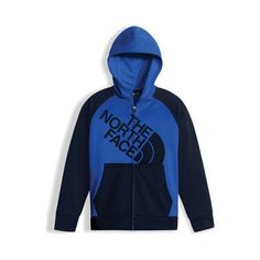50e80a1198b8 Boys  The North Face Surgent Full Zip Hoodie Bright Blue Cosmic Blue Full  Zip