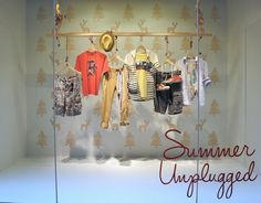 """Summer on a Coathanger"", pinned by Ton van der Veer"