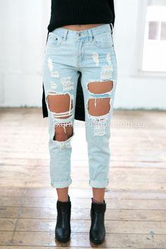 Ex-Boyfriend Jeans ▶ ▷▶ Shop It Now ❤ Xenia Boutique xx