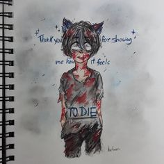 "2,565 Likes, 85 Comments - aki_neko (@hafuwa) on Instagram: ""Die ;) . . .OK OK OKAY..so I saw this one doodle on the internet, and I WAS LIKE OMG IT WOULD BE…"""