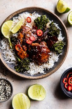 Dinners like this 30 minute teriyaki chicken with sesame broccoli are the BEST. The post 30 Minute Teriyaki Chicken with Sesame Ginger Broccoli. appeared first on Half Baked Harvest. Teriyaki Chicken, Teriyaki Tofu, Sesame Chicken, Chicken Fajitas, Asian Recipes, Healthy Recipes, Little Lunch, Half Baked Harvest, Tasty