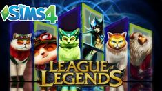 Sims 4: League of Legends CAP- Teemo, Nami, and Bard Collab w/ Nicole Si...