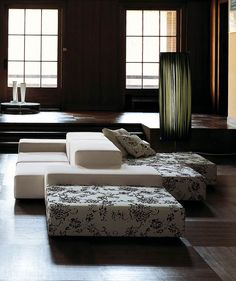 sectional facing two ways Extra Wall | Sofas | Products | Living Divani