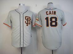San Francisco Giants 18 gray Jerseys