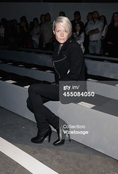 Kate Lanphear attends Marc By Marc Jacobs during MercedesBenz Fashion Week S/S 2015