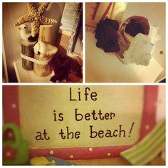 beach decor :)