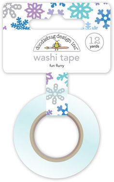 Doodlebug+Design+-+Polar+Pals+Collection+-+Washi+Tape+-+Fun+Flurry+at+Scrapbook.com