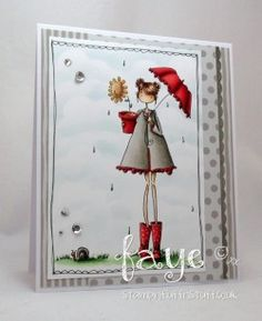 Stamping Bella: LOLLY and her BROLLY