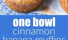 One Bowl Cinnamon Banana Muffins (Whole Wheat + Healthy) Spinach And Feta Muffins, Cauliflower Muffins, Lemon Poppyseed Muffins, Low Carb English Muffin, English Muffin Recipes, Healthy Muffin Recipes, Healthy Muffins, Maple Syrup Ingredients, Poppy Seed Muffin Recipe