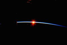 From astronaut Scott Kelly aboard the ISS. Hard to believe this...