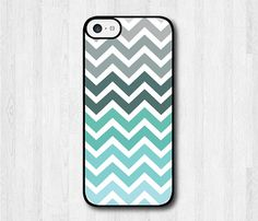 Mint Chevron iPhone 5c case, iPhone 5c hard cover, cover skin case for iphone 5c (Hard case or Rubber case) on Etsy, $8.99