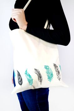 Here's a selection of the amazing projects you can make using your Screen Sensation Home Screen Printing Kit to get your creative juices flowing! Printed Tote Bags, Fabric Bags, Homescreen, Book Worms, Screen Printing, Feb 2017, Print Ideas, Sewing, Origins