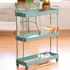 Three-Tier Tray Cart