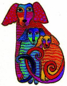 laurel burch dogs - Google Search