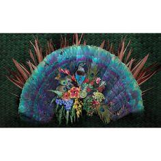 Peacock- Stunning Bold & Tropical Design wallpaper/wall mural – Miss Lolo Peacock Wallpaper, Wall Wallpaper, Vivid Colors, Colours, Wallpaper Please, Tropical Design, Day And Time, Beautiful Wall, Designer Wallpaper