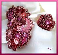 Ibolya-gyöngyei: Burgundi kollekció