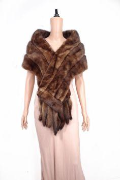 Mink Stole, Fur Cape, Vintage Fur, Vintage London, Wedding Vintage, Mink Fur, Fur Collars, Ww2, Shawl