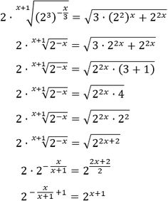 Resolved Exponential Equations: Properties of powers and roots Mathematics Geometry, Physics And Mathematics, Simple Math, Basic Math, School Study Tips, Life Hacks For School, Math Formula Chart, Algebra Problems, Gcse Math