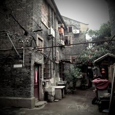 Shanghai old streets