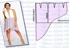 falda cola de pez Fabric Manipulation Fashion, Petunias, Pumps, Heels, Sewing Projects, Christian Louboutin, Ballet Skirt, Stitch, Crochet