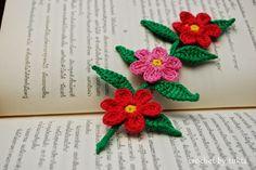 Crochet by Tukta: mini flowers